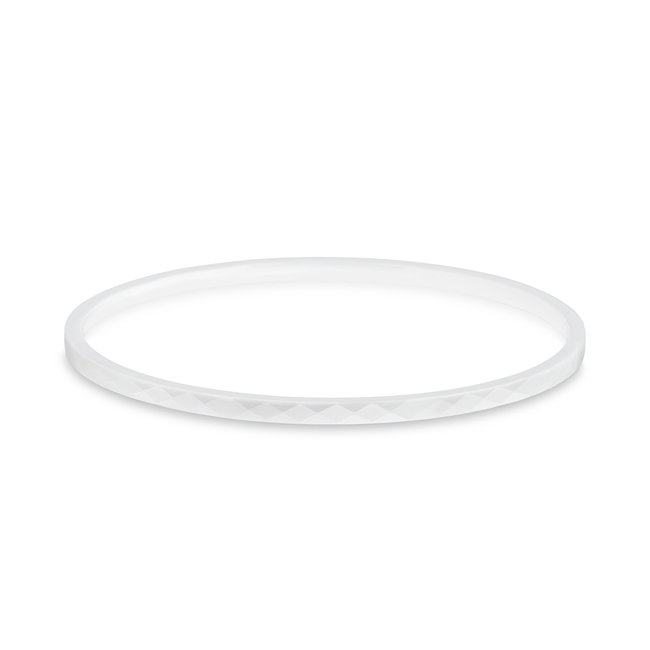 White Ceramic Bangle