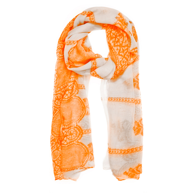Tina Scarf in Orange