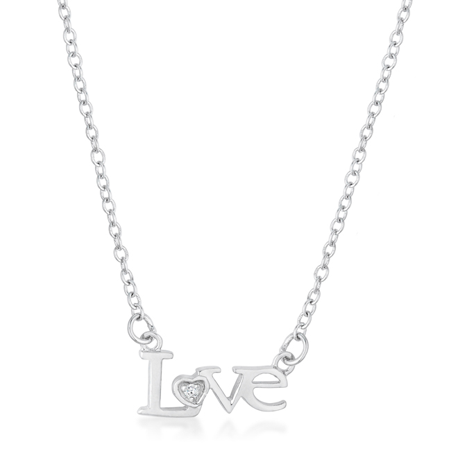 Love Script Necklace #2