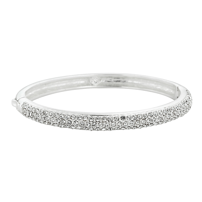 Crystal Clear Bangle