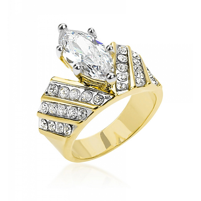Venetian Crown Ring (Size: 5)
