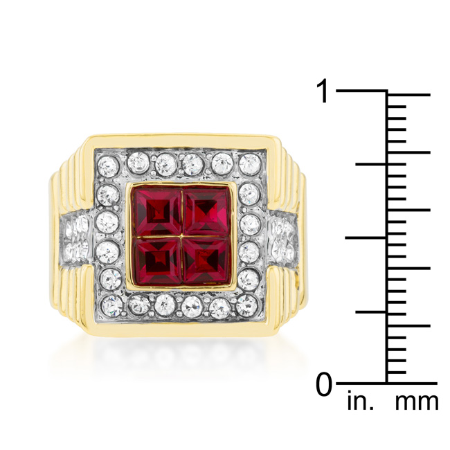 True Blood Crystal Ring (Size: 8)