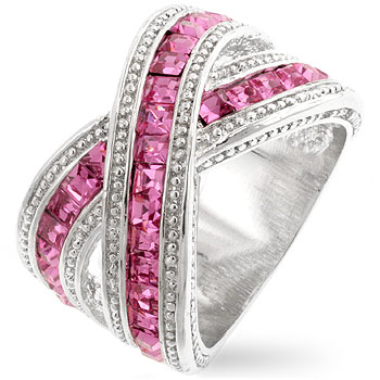 Twisting Pink Band (Size: 5)